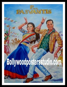 Indian bollywood poster painter