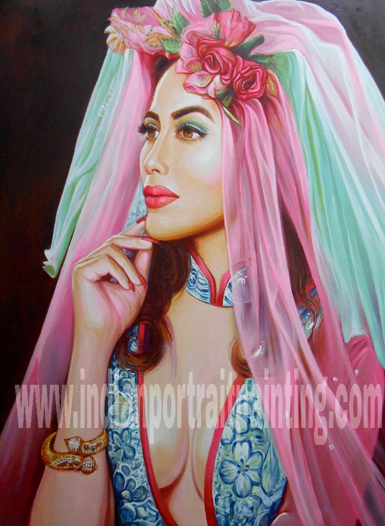 Portrait painting artist in Mumbai