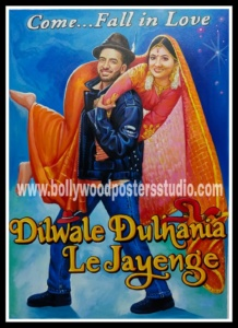 famous bollywood poster for wedding background