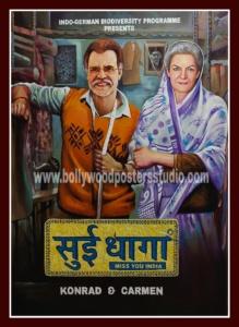 Innovative custom made bollywood posters