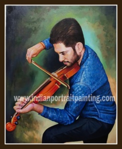 Photo to portrait painting online