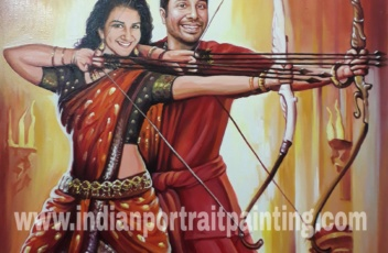 Customised gift for bollywood fan