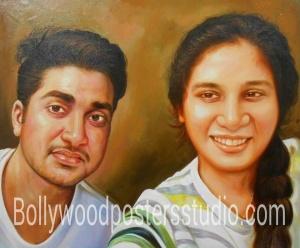 Customized gift portrait