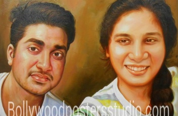 Customized gift portrait