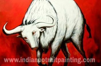 Oil painting on canvas wallart
