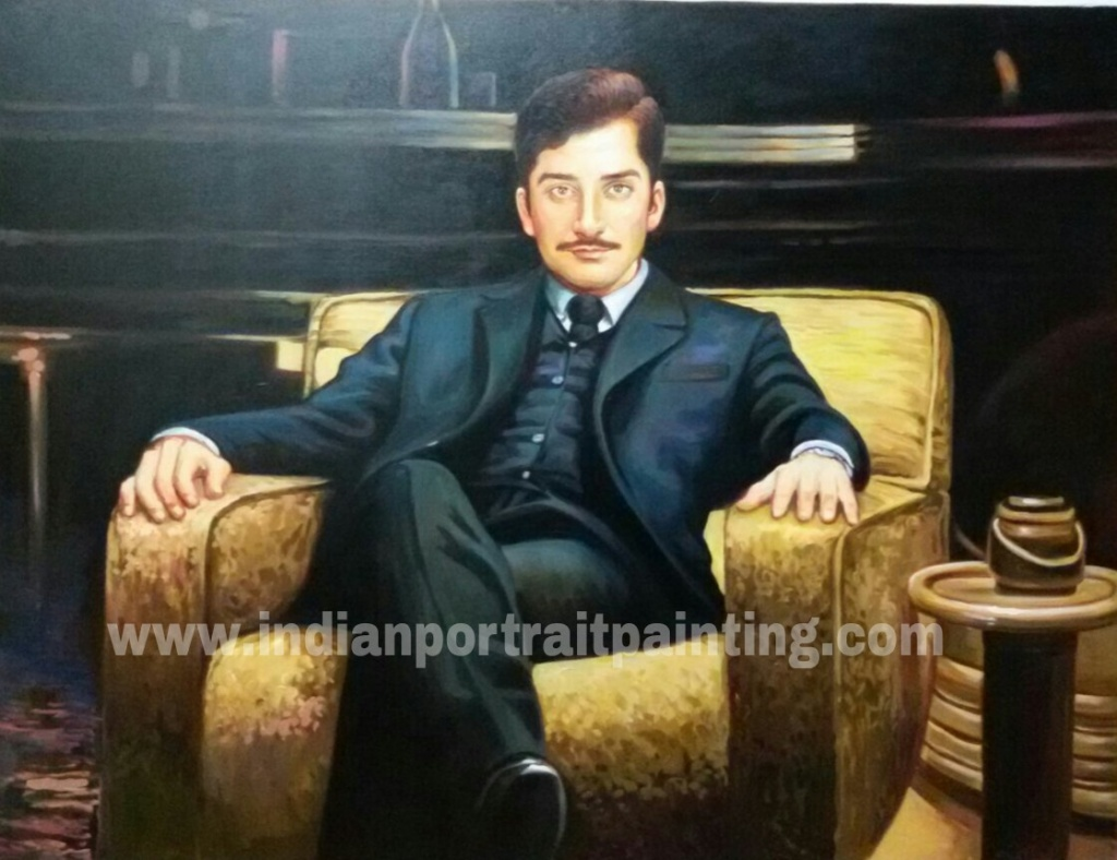 Portaits by experience Indian artist