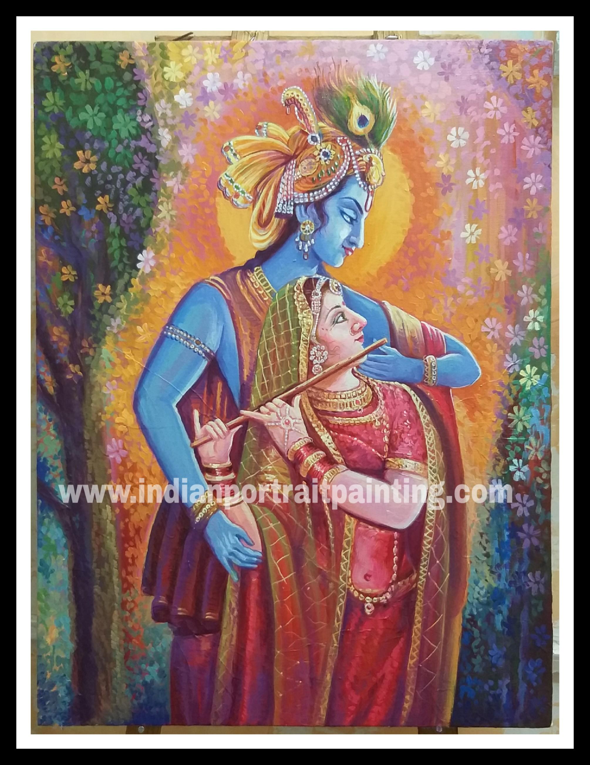 Radha Kishan paintings for sale