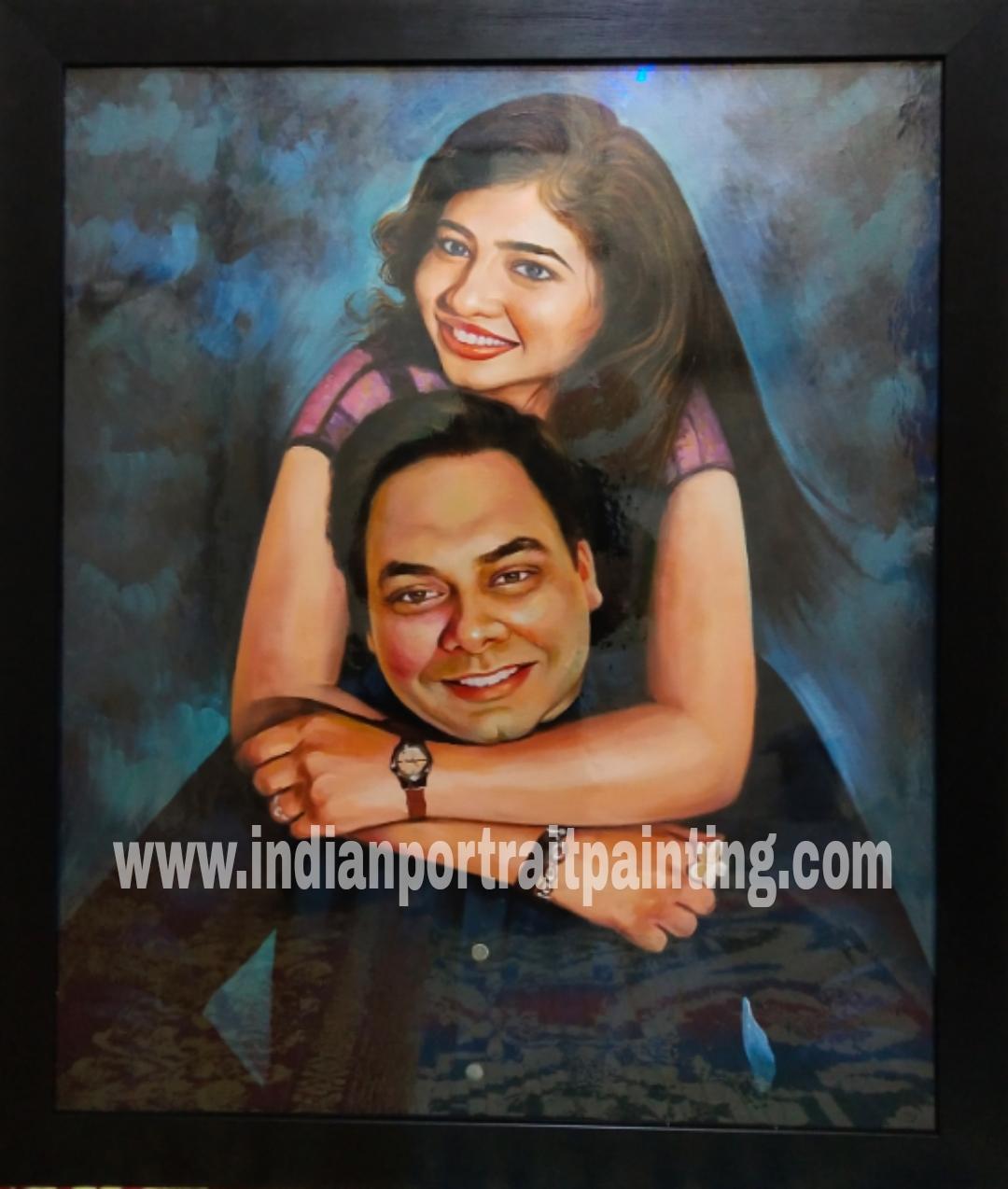 Artist for handmade oil portrait from photo