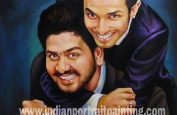 PORTRAIT PAINTING - special gift for best friends